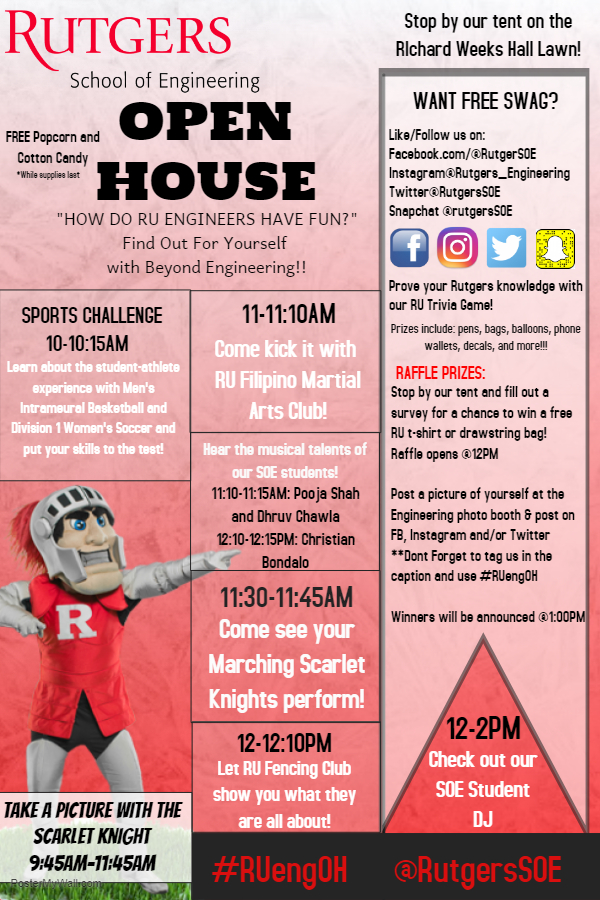 2019 Admitted Student Open House   Rutgers University School