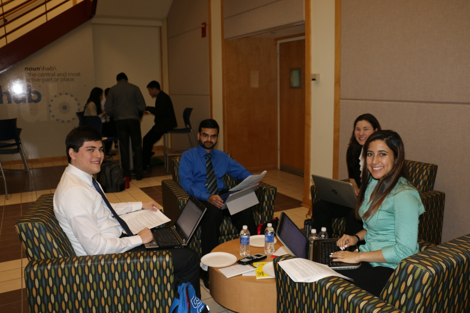 School of Engineering Students Take on Accenture Case Study